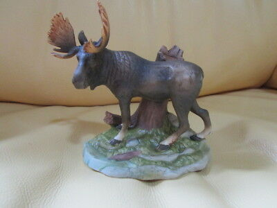 1982 Ski Country mini whiskey moose decanter - NIB.  RARE