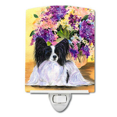 Carolines Treasures  SS8288CNL Papillon Ceramic Night Light