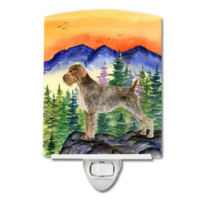 Carolines Treasures  SS8226CNL German Wirehaired Pointer Ceramic Night Light