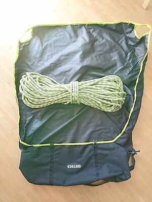 50Mtr 11mm Edelrid Climbing rope and Edelrid Carry bag (Excellent Condition)