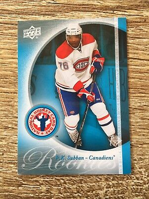 Upper Deck 2011 National Hockey Card Day P. K. Subban - Canadiens