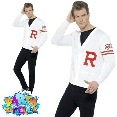 1950S GREASE MENS Rydell High Costume Adults Fancy Dress