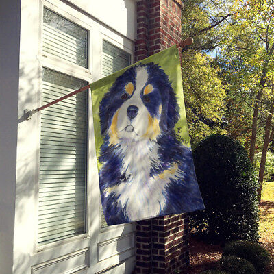 Carolines Treasures  SS1059CHF Bernese Mountain Dog Flag Canvas House Size