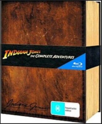 Indiana Jones The Complete Adventures [Blu-ray] New!!