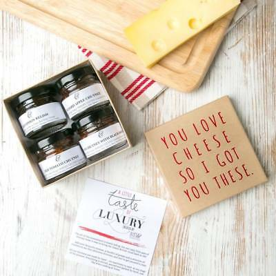 Chutney Gift Set For Dad Daddy Birthday Present From Daughter Son Step