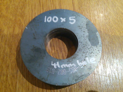 5mm Disc Circle Mild Steel 100x5x41 hole