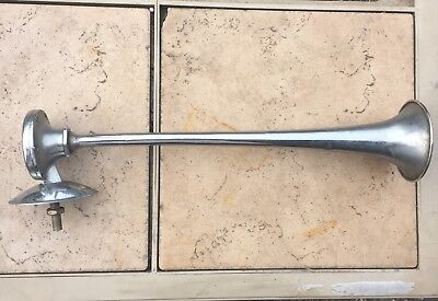 Vintage FIAMM TA-N ITALY Stainless Boat Marine Truck Air Pneumatic Trumpet Horn