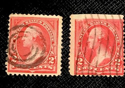 2 George Washington Cent Red Stamp Rare