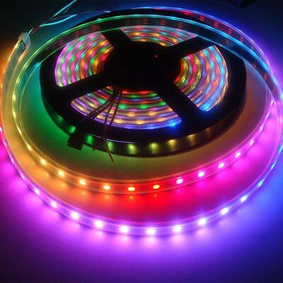 Hot 1M/5M 30/60/144 LED WS2812B 5050  LED Strip Light Waterproof  FE