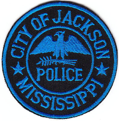 City of Jackson MS Mississippi mini/hat patch CAPITAL CITY capitol