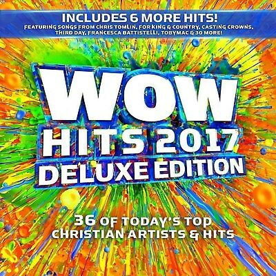 WOW Hits 2017 Various Artists 26CD 36 gospel Hits New Sealed US Shipper
