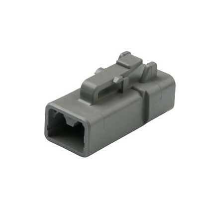 DEUTSCH DTP06-2S DTP Series 2-Way Plug
