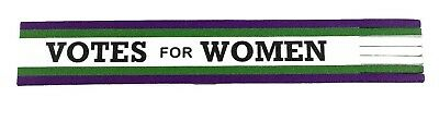 Suffragette / Womens Suffrage / Votes For Women Leather Bookmark