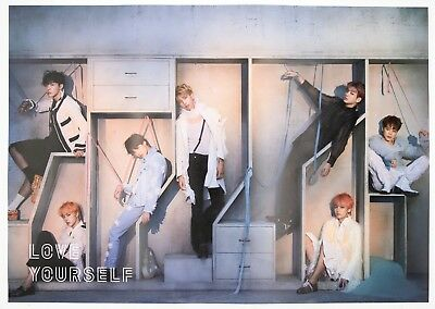 [BTS] LOVE YOURSELF 結 'ANSWER'/ SELF/ FOLDED POSTER / 'E' ver.