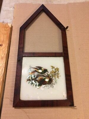 Welch Cathedral Steeple Mantle Clock Front Door