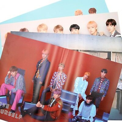 [BTS] LOVE YOURSELF 結 'ANSWER'/ SELF/ 'UNFOLDED' POSTER / 4 Poster Set