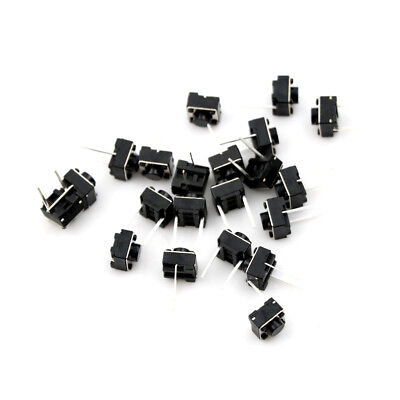 20x Momentary Tactile Tact Push Button 2 Pin Switch DIP 6x6x5mm Best UK