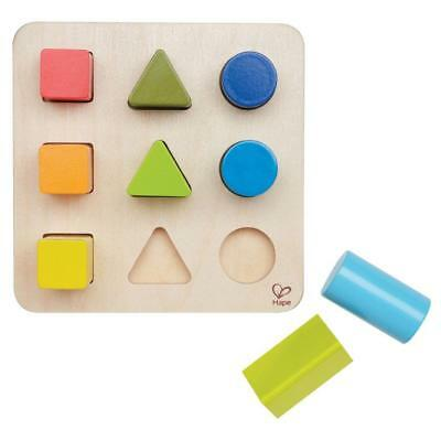 Color and Shape Sorter - Wooden Block Toy - Child Safe Paints