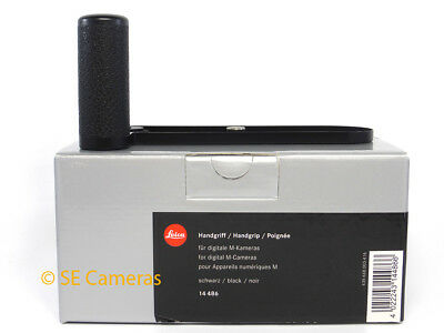Genuine Leica 14486 Hand Grip For M Digital Cameras M8 M8.2 M9 Etc *new Uk Stock