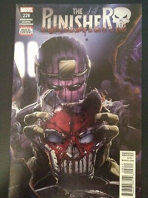 The Punisher 226 1st Print Crain cover !