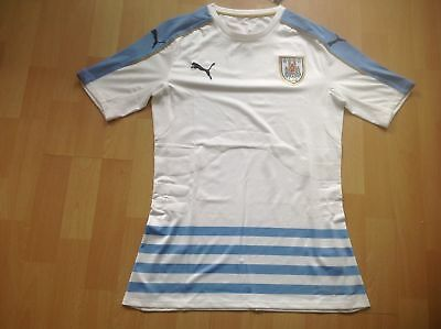 PUMA URUGUAY AUTHENTIC player issue SHIRT JERSEY MATCH MAGLIA CAMISETA AWAY 605987d49