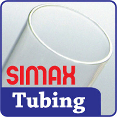 Glass - 33 COE - 16mm x 2.5mm Simax Tubing Borosilicate Case Glassblowing