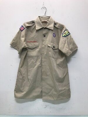 Boy Scouts Of America Mens Med 15-15 1/2 Shirt