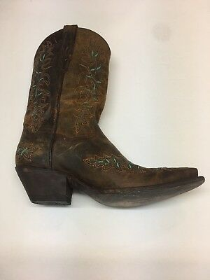7bccffa00c5 DAN POST WOMEN S Maria Dirty Bull Kid 13 Inch Western Cowgirl Boot ...