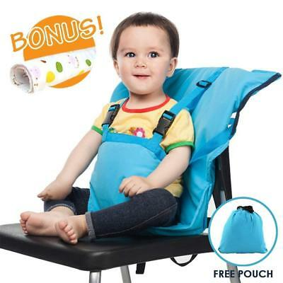 Portable Travel Baby High Chair Feeding Booster Safety Seat Harness Cover Sack