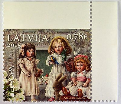 Lettland Latvia 2015 Michel Nr. 941 aus MH Altes Spielzeug Europa