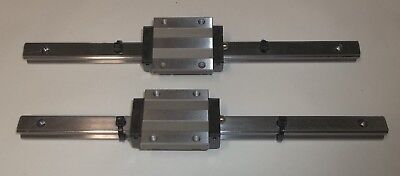 THK Standard Caged Ball Linear Motion Block & 270mm Stainless Steel Rail SHS15C