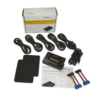 """StarTech.com Drive Duplicator and Eraser for USB Flash Drives and 2.5 / 3.5"""""""