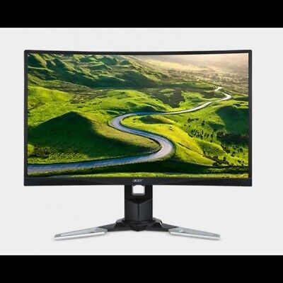 """Acer XZ271 27"""" Curved Free-Sync LED, 4ms, 1920 x1080, 16:9, 3000:1, 1 x HDMI2.0;"""