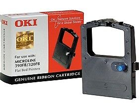 OKI BLACK RIBBON 390FB (OKR390FB) TPA4025-2997G006  Free Ship