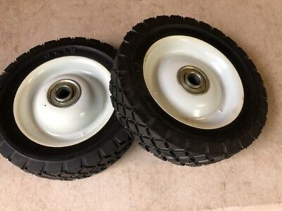"Replacement Wheels for Hand Trucks & Dollies 6"" x 1.5"" Ball Bearing Set of 2"