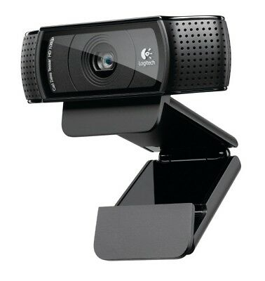 New LOGITECH C920 HD 1080P PRO WEBCAM - 2 YR WTY Free Shipping