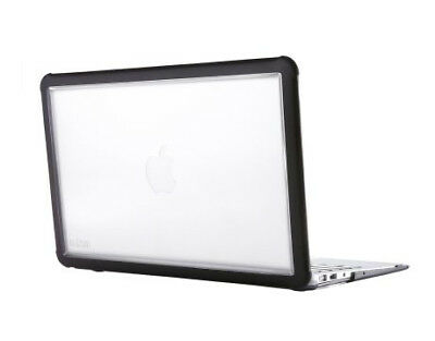 """New STM dux for MacBook Air 11"""" 11"""" Cover Black,Transparent Free Shipping"""