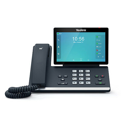 Yealink SIP-T56A IP phone Black Wired handset LCD Wi-Fi TSIP-T56A  Free Ship
