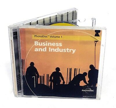 PhotoDisc - BUSINESS & INDUSTRY - Vol. 12 (Stock Photography, 2 CD Set)