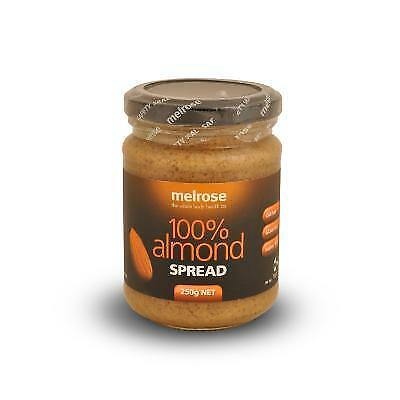 Melrose 100% Almond Spread Organic Gluten Free Health Food