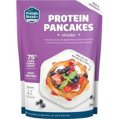 THE PROTEIN BREAD CO. Protein Pancakes 300g Organic Gluten Free Health Food