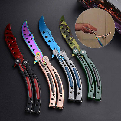 Blunt Butterfly Balisong CSGO Praxis Trainer Training Übungsmesser Messer Tools