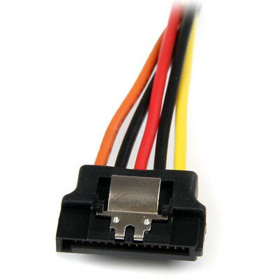 New StarTech.com 6in Latching SATA Power Y Splitter Cable Adapter - M/F Free Shi