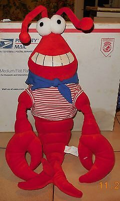 Vintage Grand Casino Biloxi Lobster Plush Rare VHTF obsolete Mississippi