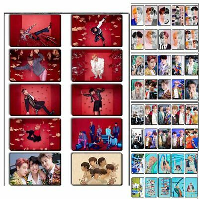 10pcs/set Kpop BTS LOVE YOURSELF HD Photocards Crystal Card Stickers Fans Gift