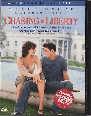 Chasing Liberty (DVD, 2004, Widescreen) Mandy Moore  Jeremy Piven