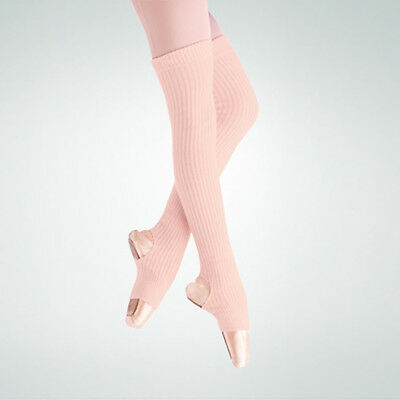 """New 36"""" Stirrup Leg Warmers Theatrical Pink 94 Body Wrappers"""