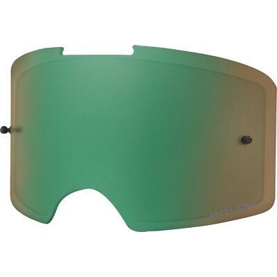 38bc0449b8 NEW Oakley Front Line MX Motocross Goggles Green Jade Prizm Replacement Lens