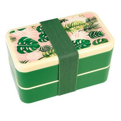 NEW Rex International Bento Box – Tropical Palm - Lunch Box
