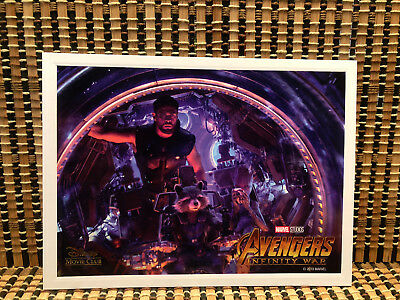 Avengers: Infinity War Limited Edition Lithograph (Disney Movie Club)Rare/OOP